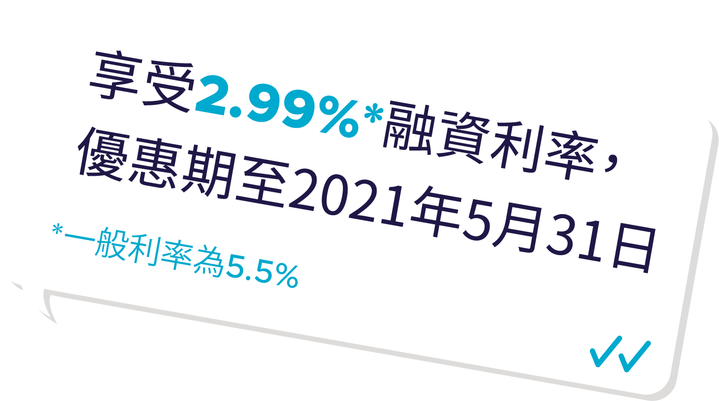 增大您的投資,2.99%保證金利率